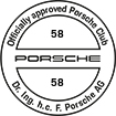 Officially approved Porsche Club 58